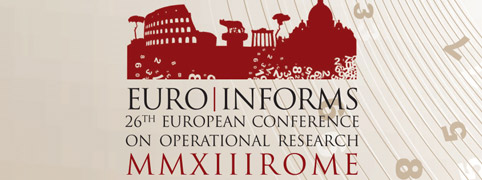 26° EUROPEAN CONFERENCE ON OPERATIONAL RESEARCH
